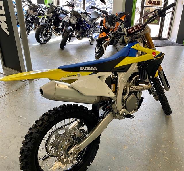 2020 Suzuki RM-Z 450 at Shreveport Cycles