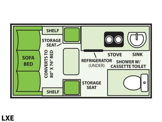 2022 Aliner LXE Base at Prosser's Premium RV Outlet