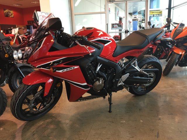 2018 Honda CBR650F Base at Kent Powersports of Austin, Kyle, TX 78640