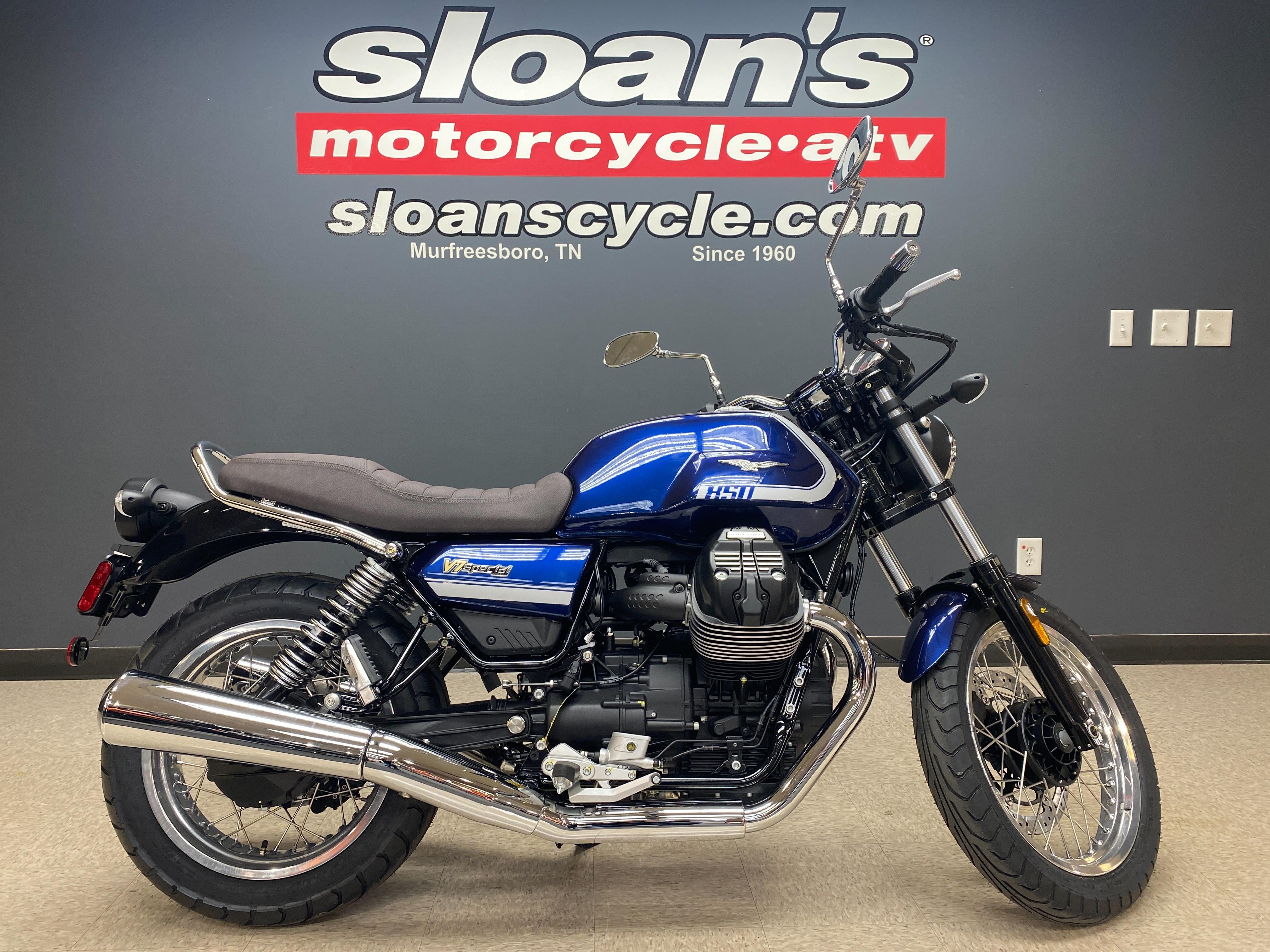 2021 Moto Guzzi V7 Special E5 at Sloans Motorcycle ATV, Murfreesboro, TN, 37129