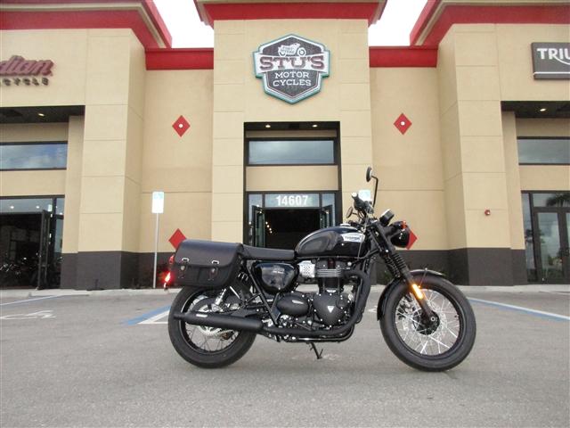 2019 Triumph Bonneville T100 Black at Stu's Motorcycles, Fort Myers, FL 33912