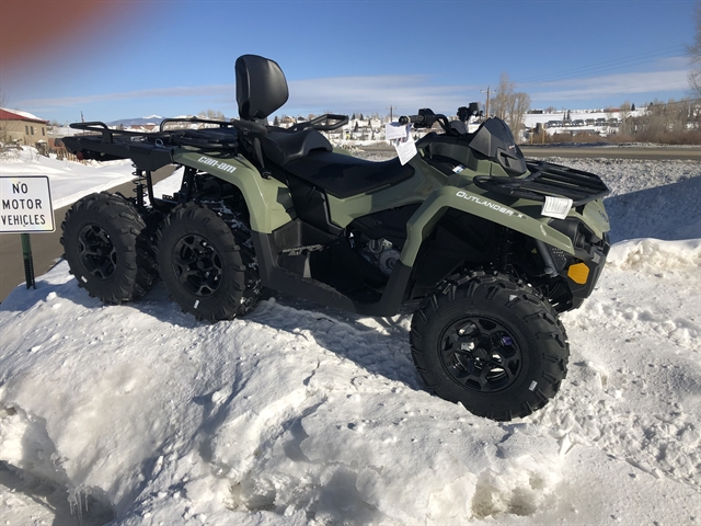2020 Can-Am Outlander MAX 6x6 DPS 450 at Power World Sports, Granby, CO 80446