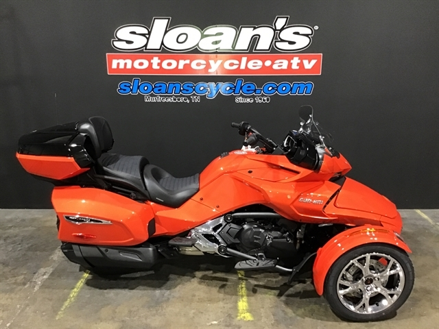 2021 Can Am F3 LIMITED SE6 CHROME 000H9ML00 at Sloans Motorcycle ATV, Murfreesboro, TN, 37129