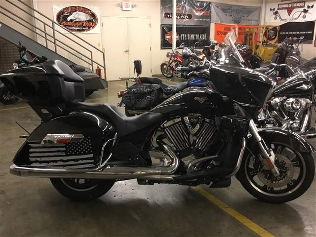 2016 Victory Cross Country Tour Base at Bud's Harley-Davidson, Evansville, IN 47715