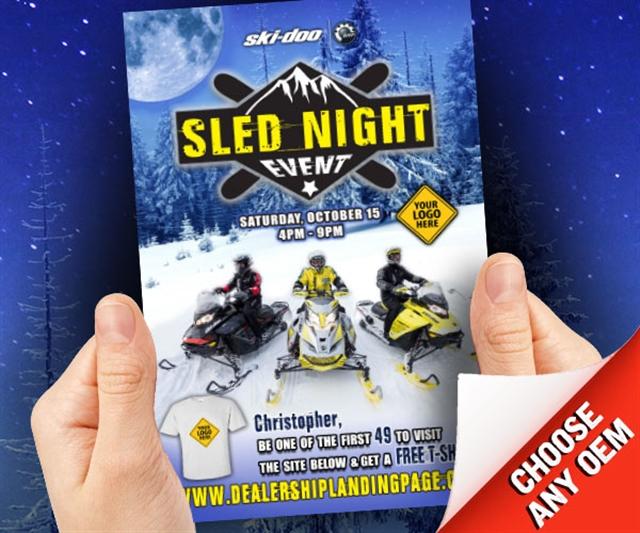 2018 Winter Sled Night Powersports at PSM Marketing - Peachtree City, GA 30269