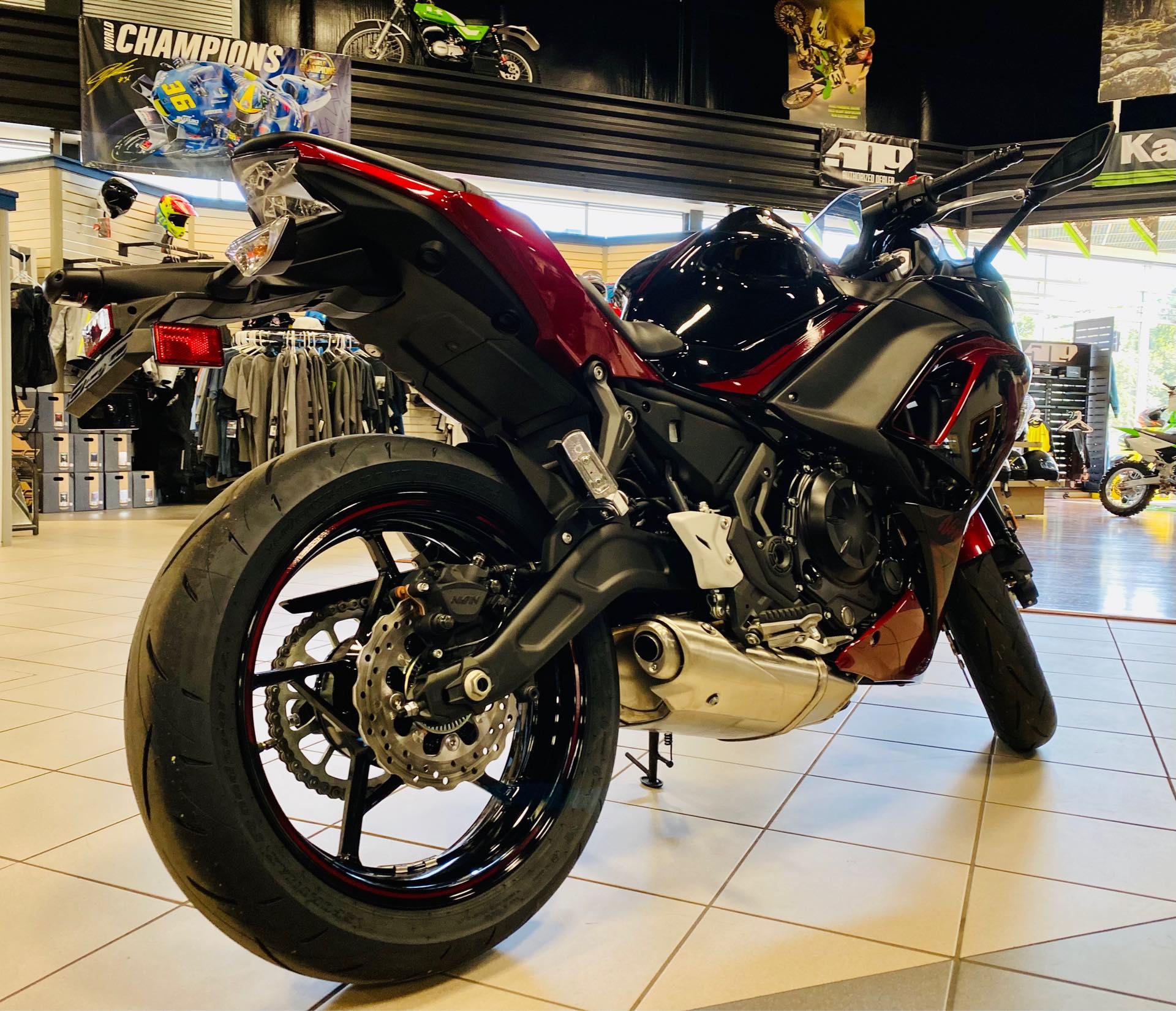 2021 Kawasaki Ninja 650 ABS at Rod's Ride On Powersports