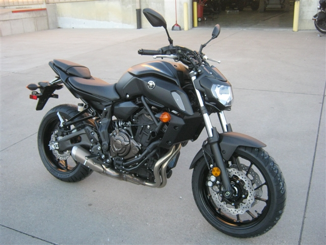 2019 Yamaha MT07 at Brenny's Motorcycle Clinic, Bettendorf, IA 52722