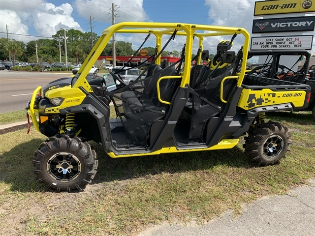 2019 Can-Am Defender MAX X mr HD10 at Jacksonville Powersports, Jacksonville, FL 32225