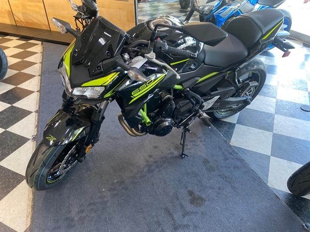 2020 Kawasaki Z650 ABS at Jacksonville Powersports, Jacksonville, FL 32225