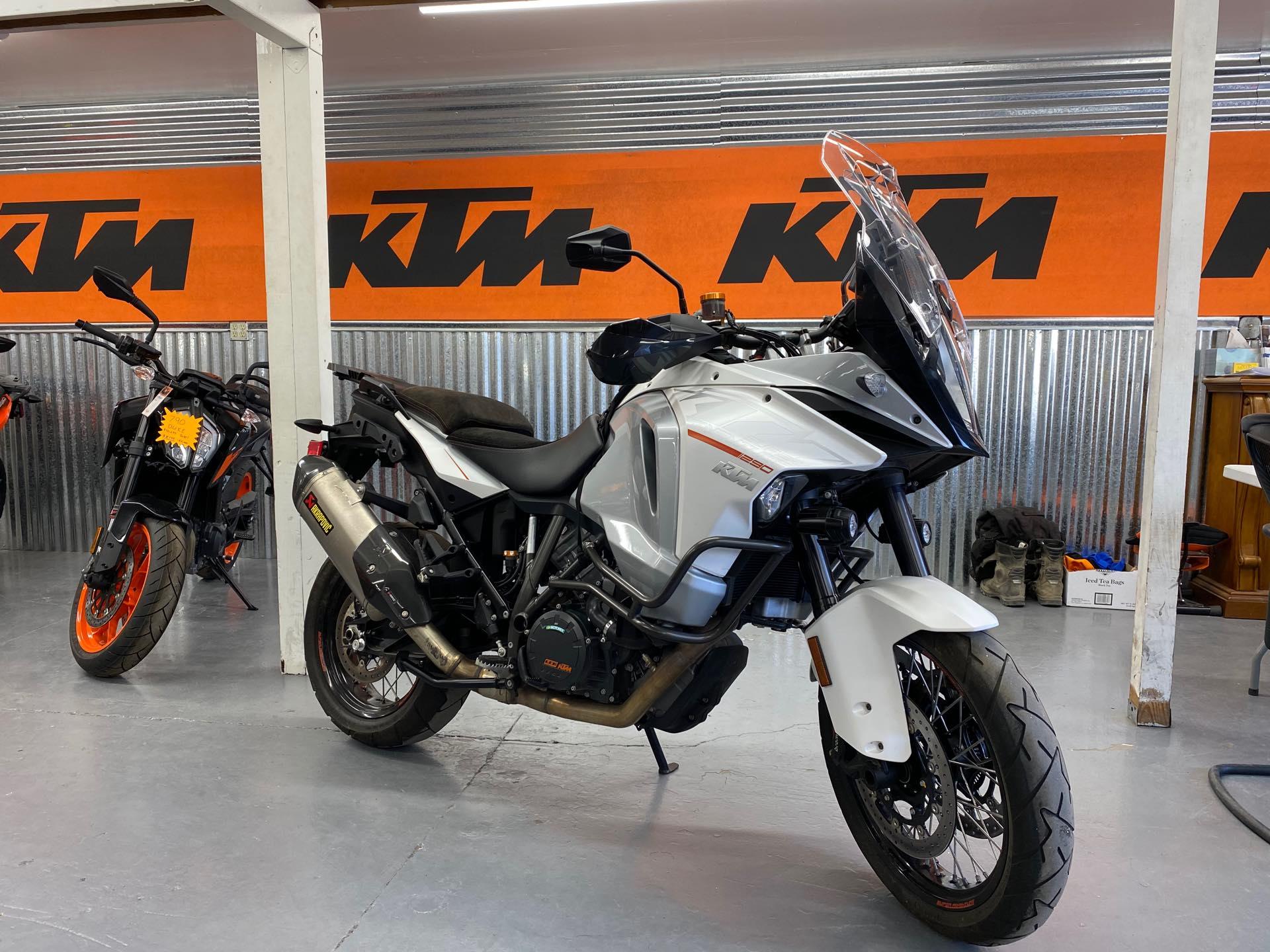 2015 KTM SPORT MOTORCYCLES 1290 SUPER ADVENTURE at Cascade Motorsports