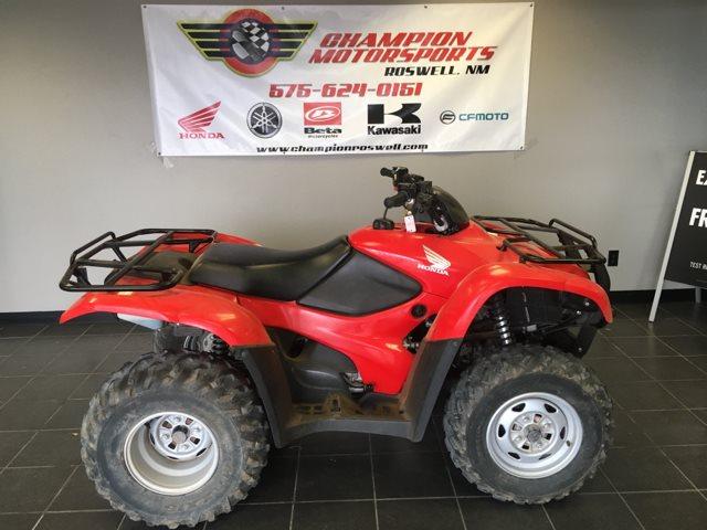 2010 Honda FourTrax Rancher™ 4X4 ES at Champion Motorsports, Roswell, NM 88201