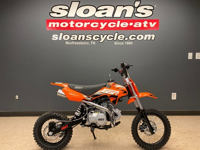 2021 SSR SR125 SEMI SRN125SEMI-21-OR at Sloans Motorcycle ATV, Murfreesboro, TN, 37129