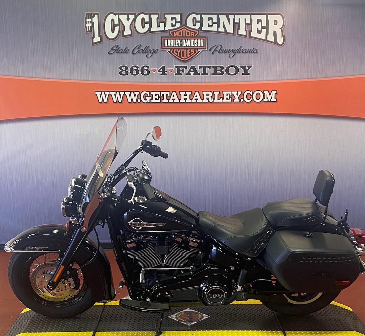 2019 Harley-Davidson Softail Heritage Classic 114 at #1 Cycle Center Harley-Davidson