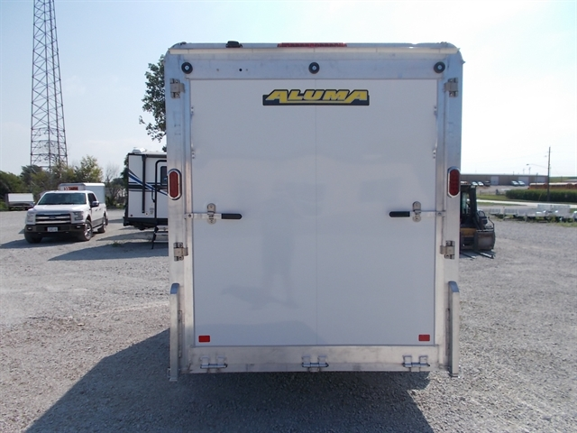2021 Aluma Enclosed Single Axle Trailers AE612/R at Nishna Valley Cycle, Atlantic, IA 50022