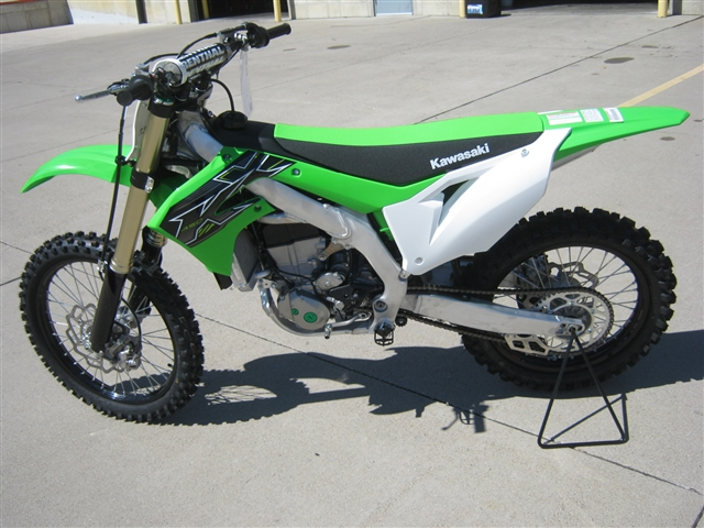 2019 Kawasaki KX450F at Brenny's Motorcycle Clinic, Bettendorf, IA 52722