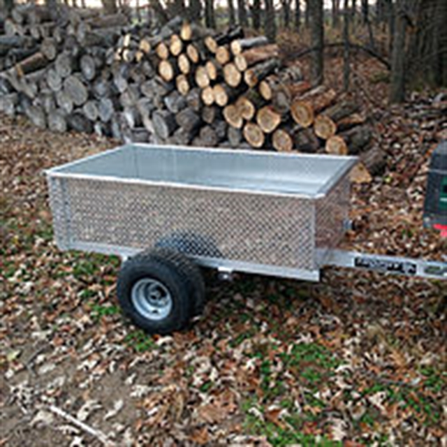 2020 Trophy BigFoot yard trailer at Fort Fremont Marine