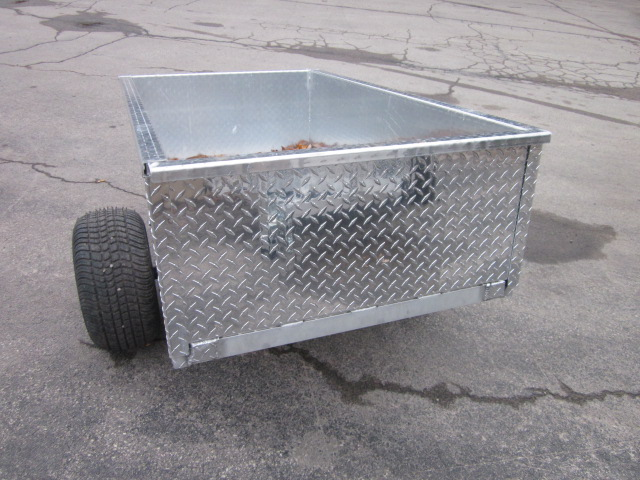 2022 Trophy BigFoot yard trailer at Fort Fremont Marine