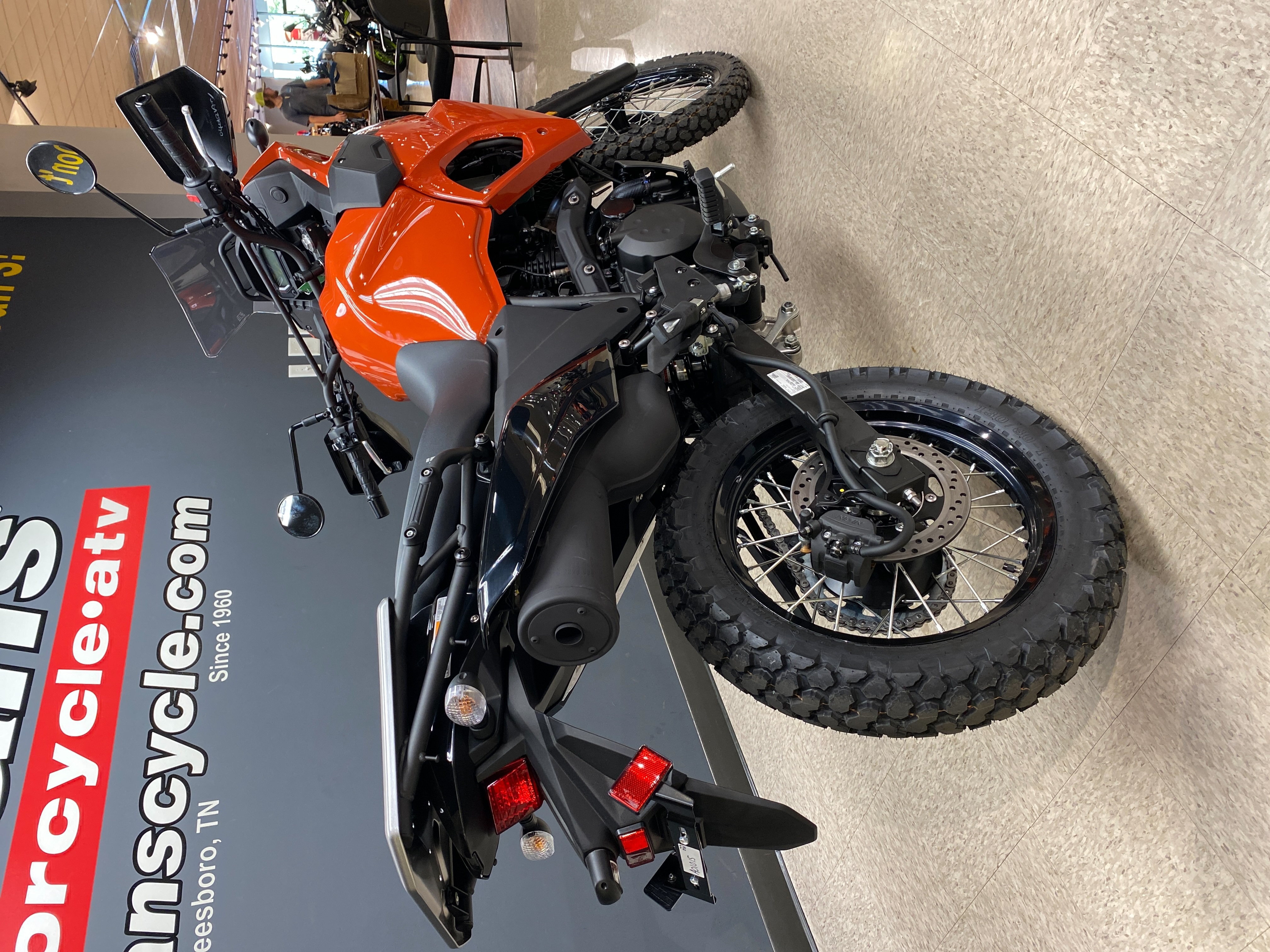 2022 Kawasaki KLR 650 ABS at Sloans Motorcycle ATV, Murfreesboro, TN, 37129
