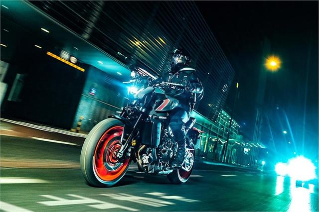 2021 Yamaha MT 09 at Wild West Motoplex