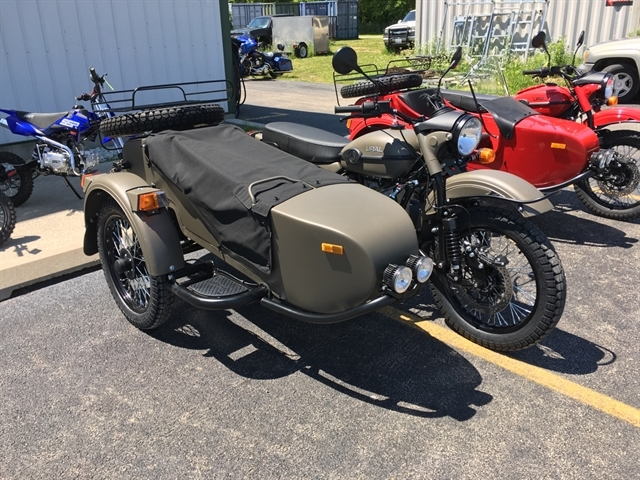 2020 URAL GEAR UP OD GREEN 750 at Randy's Cycle, Marengo, IL 60152