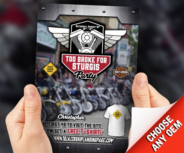 Too Broke for Sturgis Powersports at PSM Marketing - Peachtree City, GA 30269
