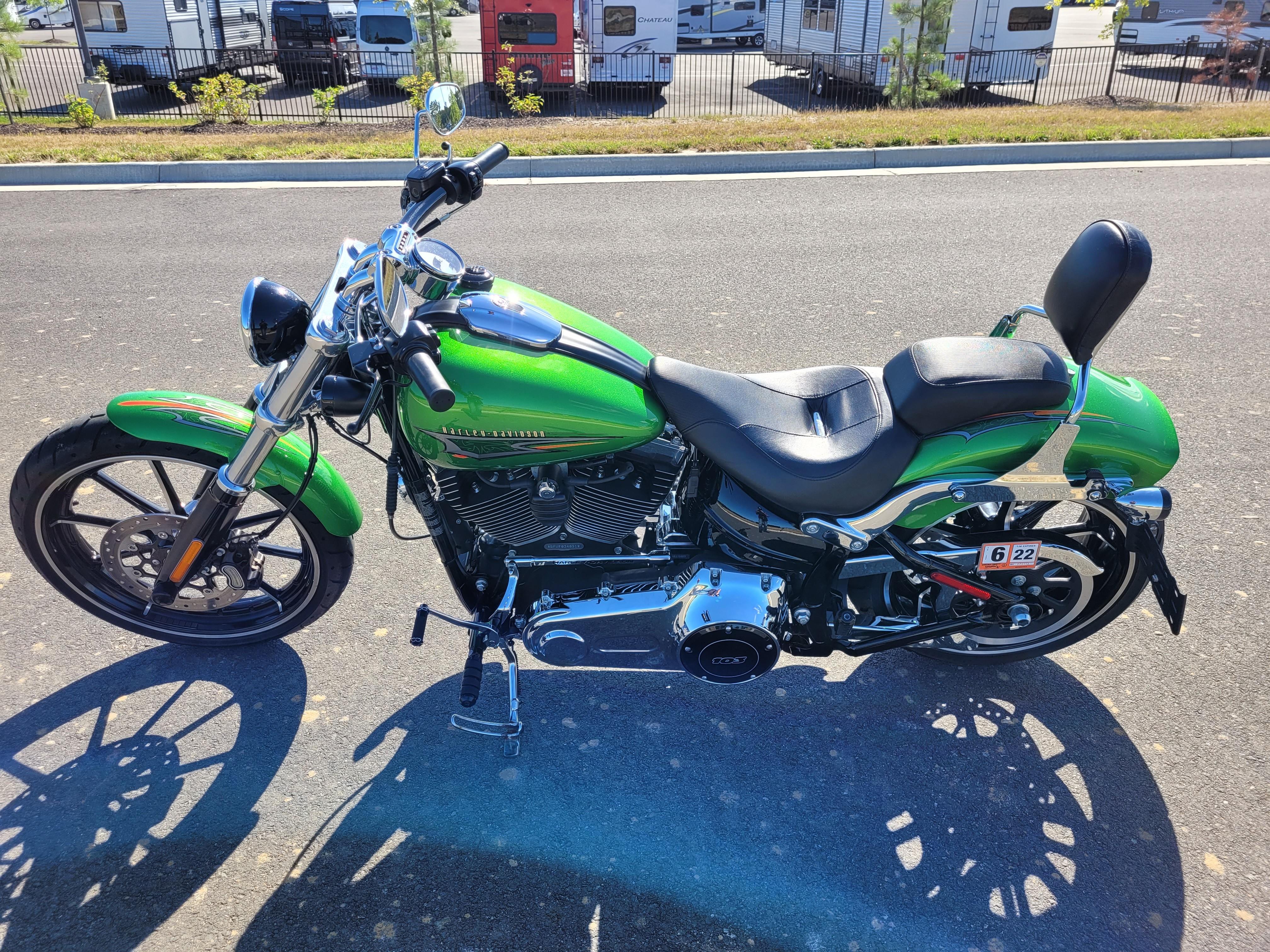 2015 Harley-Davidson Softail Breakout at Richmond Harley-Davidson