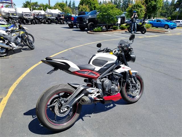 2018 Triumph Street Triple R at Lynnwood Motoplex, Lynnwood, WA 98037