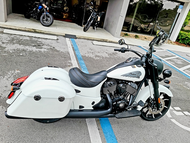 2019 Indian SPRINGFIELD DARK HORSE WHITE SMOKE 49ST at Fort Lauderdale