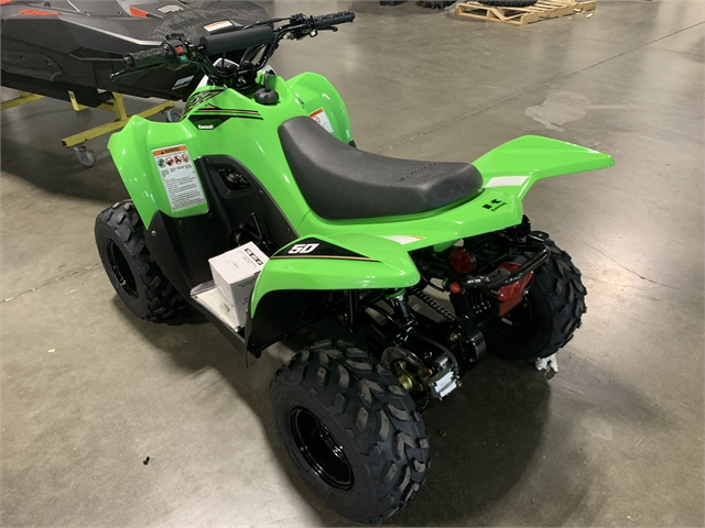 2021 Kawasaki KFX 50 at Star City Motor Sports