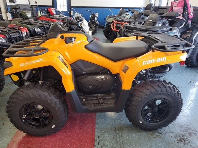 2019 CAN-AM ATV OUTLANDER DPS 570EFI OC 19 at Thornton's Motorcycle - Versailles, IN