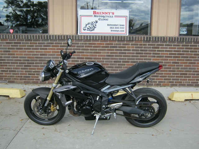 2014 Triumph Street Triple 675 at Brenny's Motorcycle Clinic, Bettendorf, IA 52722