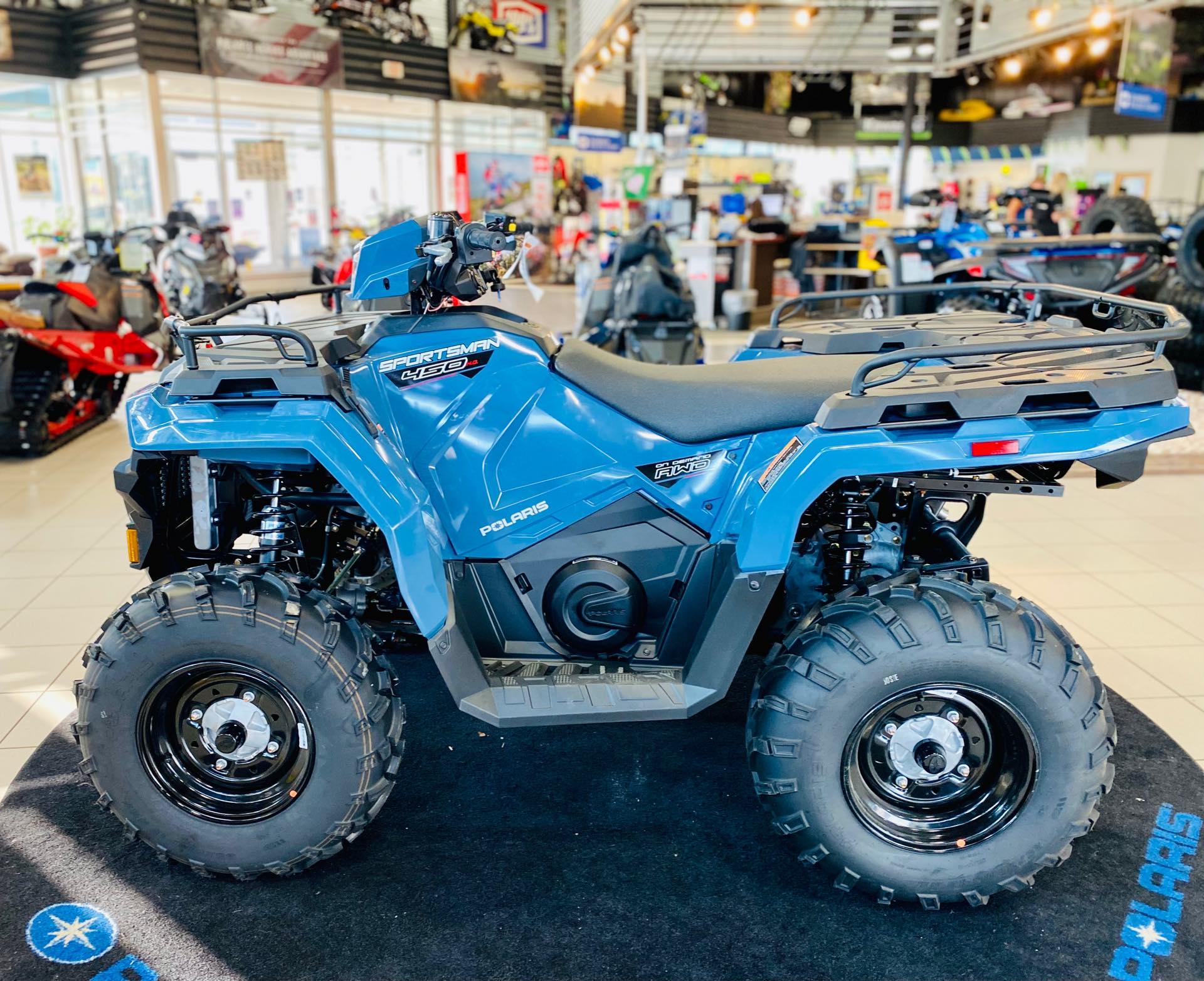 2021 Polaris Sportsman 450 HO EPS at Rod's Ride On Powersports