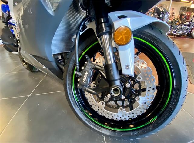 2021 Kawasaki Ninja ZX-6R ABS at Shreveport Cycles