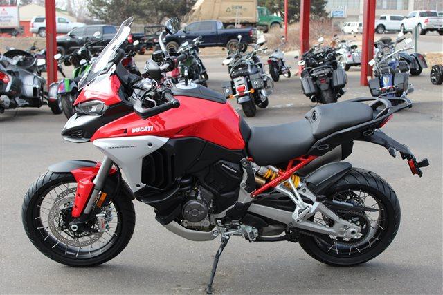2021 Ducati Multistrada V4S Travel & Radar - spoked wheels V4 S at Aces Motorcycles - Fort Collins