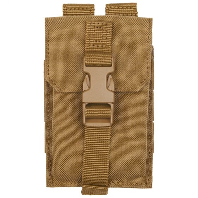 2019 511 Tactical Strobe/GPS Pouch Flat Dark Earth at Harsh Outdoors, Eaton, CO 80615