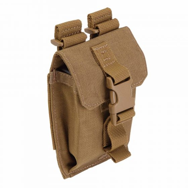 2019 5.11 Tactical Strobe/GPS Pouch Flat Dark Earth at Harsh Outdoors, Eaton, CO 80615