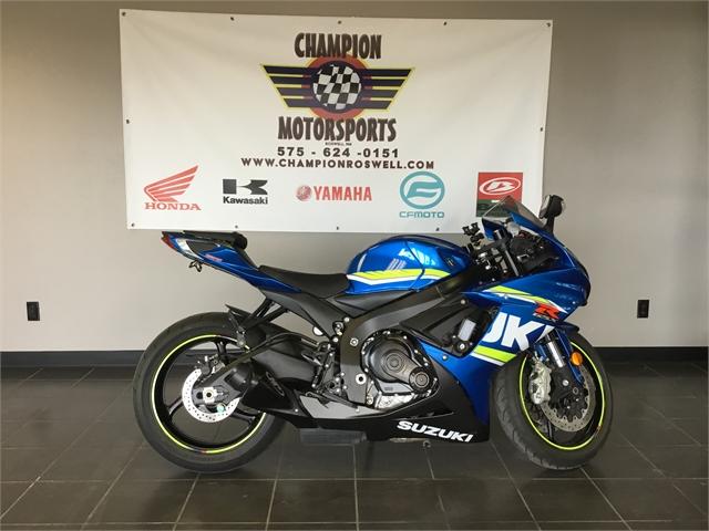2018 Suzuki GSX-R 600 at Champion Motorsports