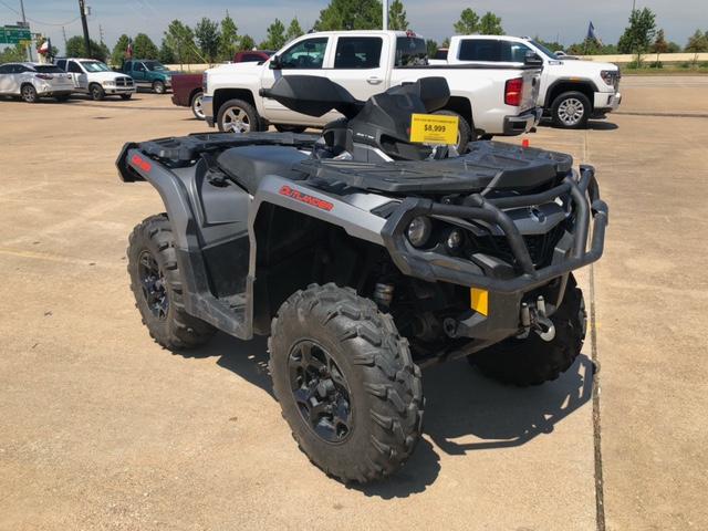 2015 Can-Am Outlander 800R XT at Wild West Motoplex