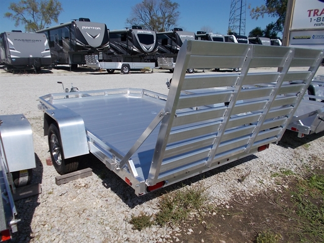 2021 Aluma Single Axle Utility Trailers 7710 at Nishna Valley Cycle, Atlantic, IA 50022