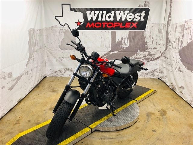 2017 Honda Rebel 500 at Wild West Motoplex