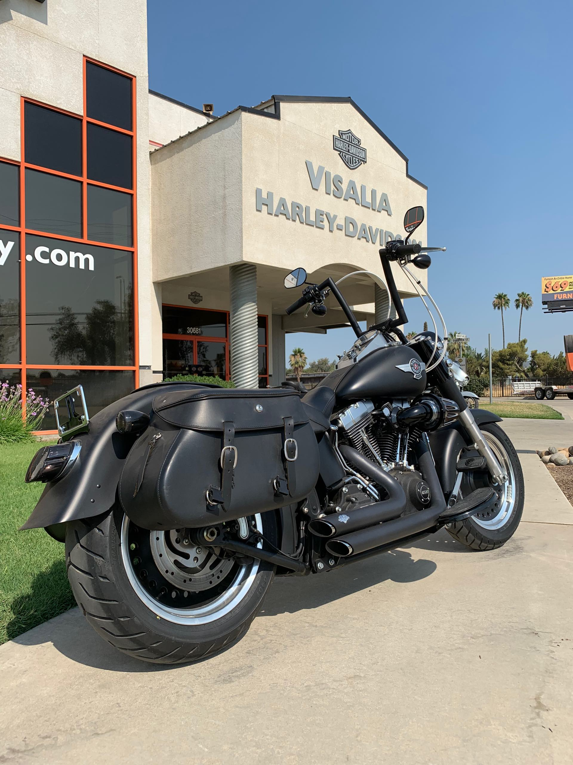 2015 Harley-Davidson Softail Fat Boy Lo at Visalia Harley-Davidson