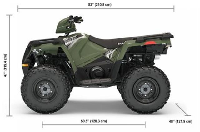 2019 Polaris Sportsman 570 EPS at Pete's Cycle Co., Severna Park, MD 21146