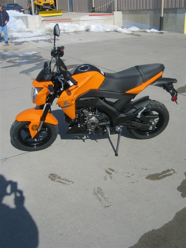 2019 Kawasaki Z125 PRO Base at Brenny's Motorcycle Clinic, Bettendorf, IA 52722