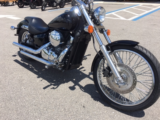 2013 Honda Shadow Spirit 750 C2 at Stu's Motorcycles, Fort Myers, FL 33912