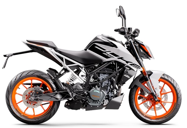 2021 KTM Duke 200 at Wild West Motoplex