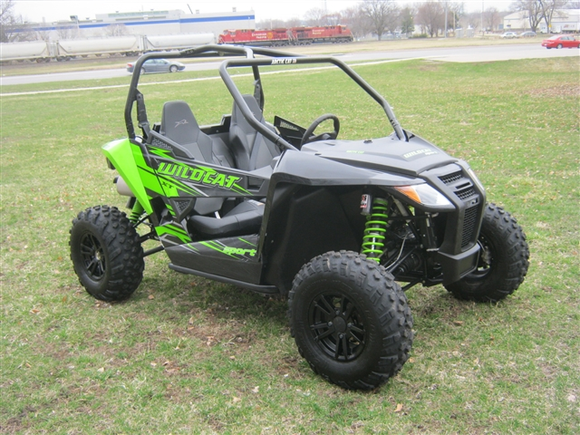 2017 Arctic Cat Wildcat Sport XT EPS at Brenny's Motorcycle Clinic, Bettendorf, IA 52722