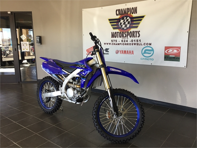 2021 Yamaha YZ 250F at Champion Motorsports