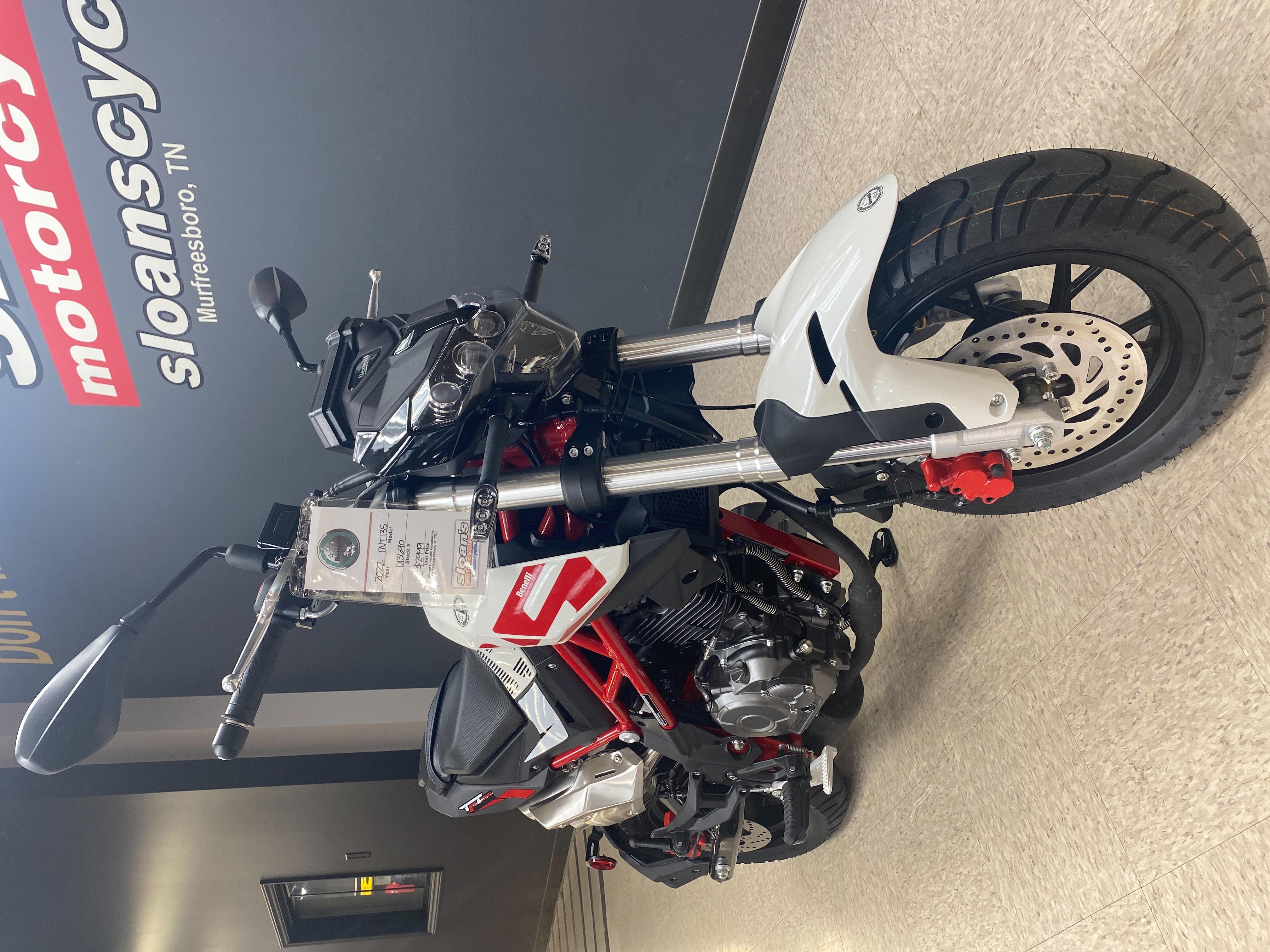 2022 Benelli TNT 135 at Sloans Motorcycle ATV, Murfreesboro, TN, 37129