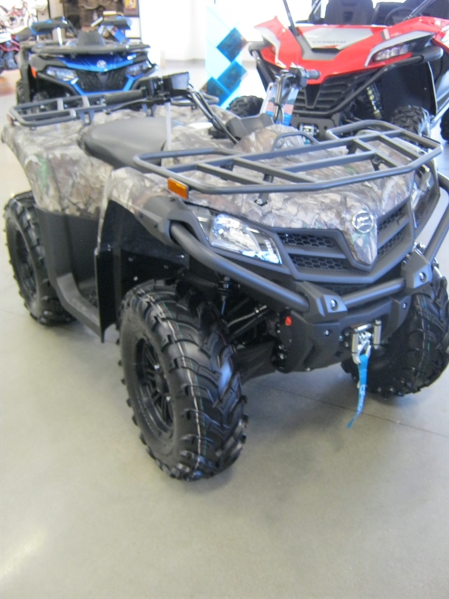 2021 CFMoto CForce 500S EPS Camo at Brenny's Motorcycle Clinic, Bettendorf, IA 52722