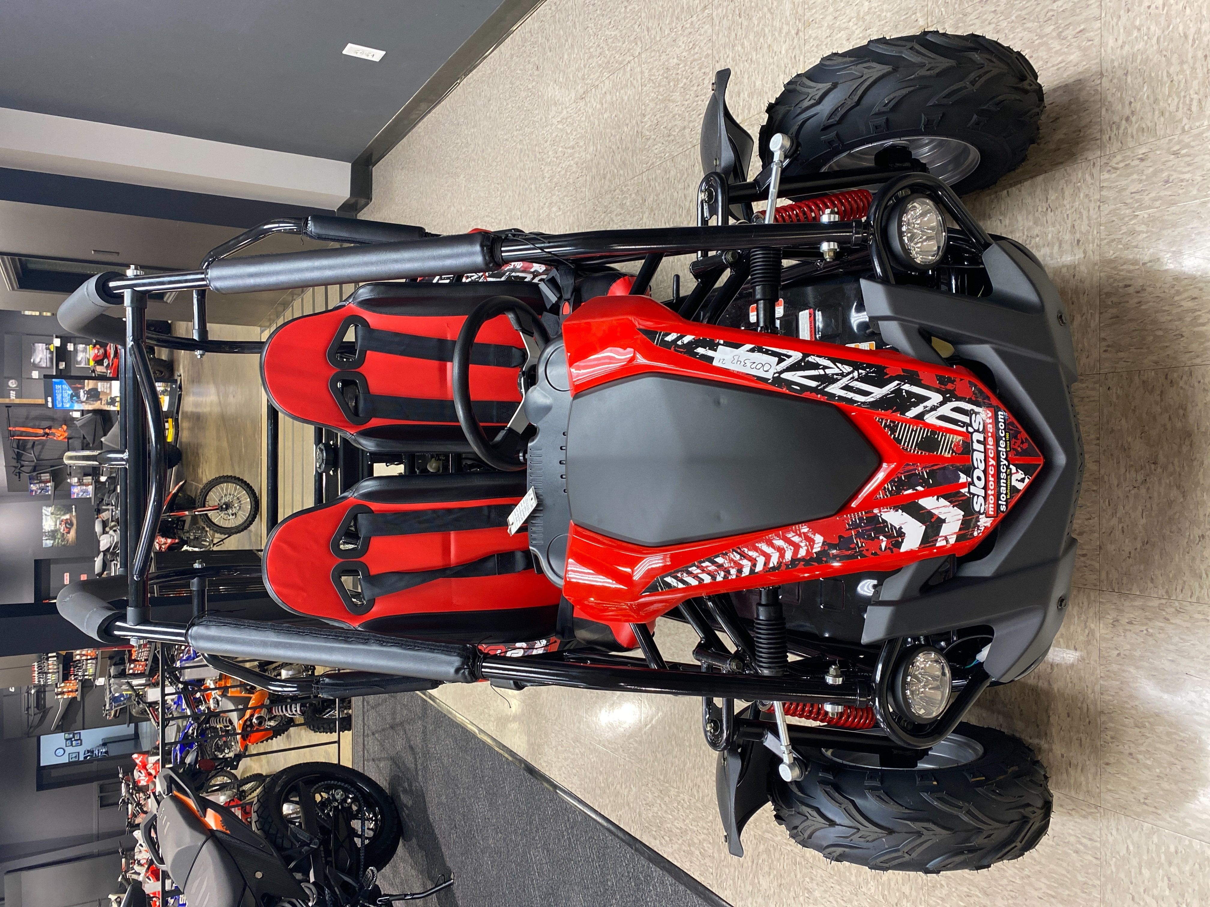 2021 Trail Master Karts BLAZER 200R-A-RED BLAZER 200R-A-RED at Sloans Motorcycle ATV, Murfreesboro, TN, 37129